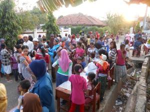 Bazaar oleh peserta KKN